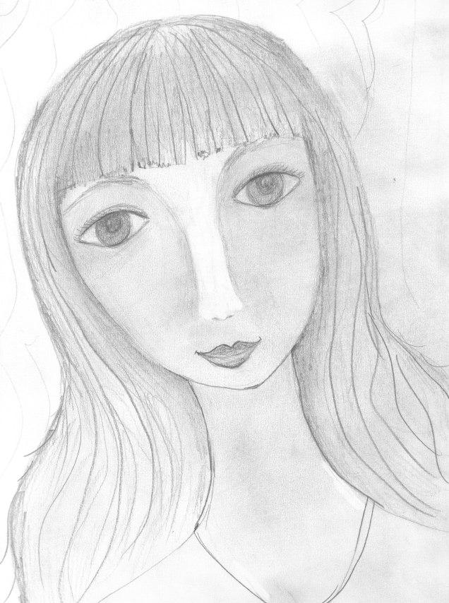 pencil-girl